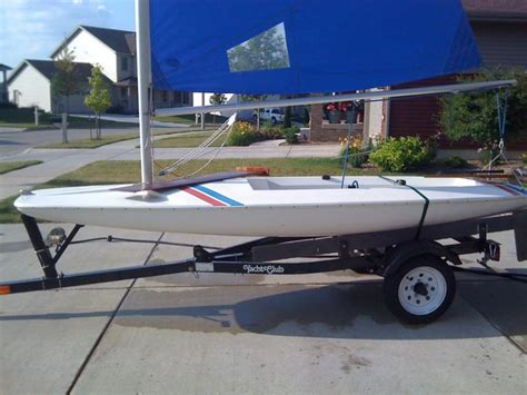 Scow Sailboat by Johnson Boat Works Sailboats