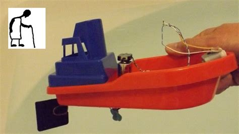 Electric Toy Boat Videos by Bargain Store Project Toy Boat Electric Conversion