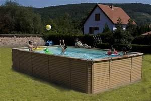 Piscine Hors Sol Composite : piscine zodiac azteck rectangulaire le must de la piscine ~ Dode.kayakingforconservation.com Idées de Décoration
