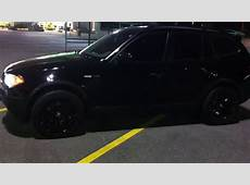 BMW X3 ALL BLACKED OUT YouTube