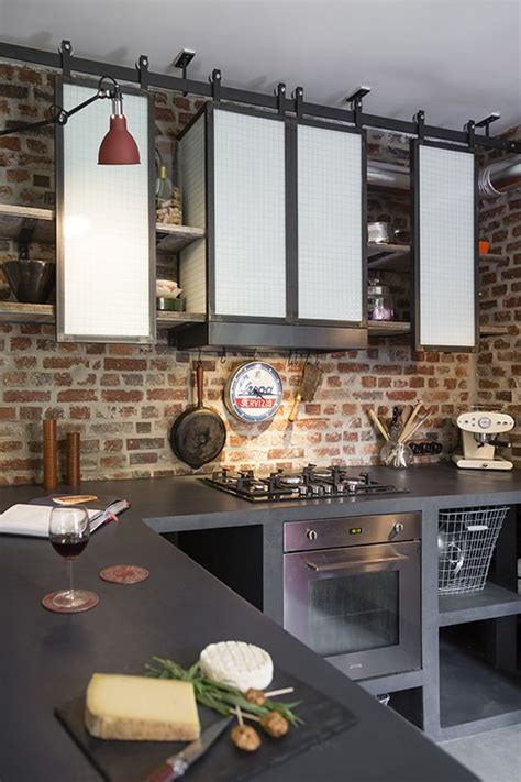 industrial style kitchen designs les 25 meilleures id 233 es concernant 201 tag 232 res de cuisine sur 4678