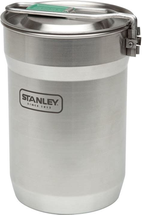 stanley stainless cup steel cook camp adventure pot