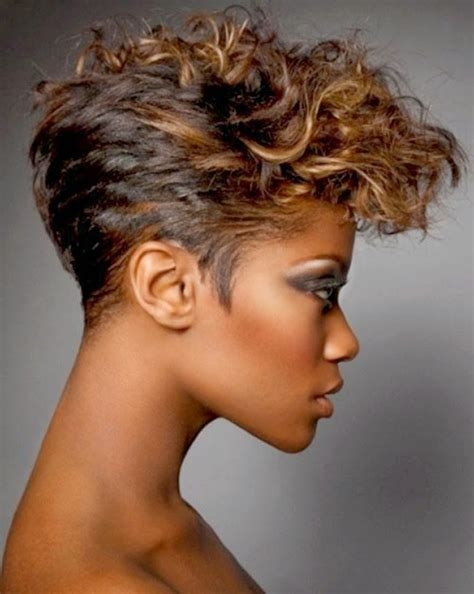 curly short hairstyles  black women  hairstyles