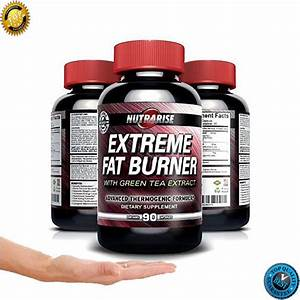 Extreme Thermogenic Fat Burner Weight Loss Pills For Men Women Green Tea Extract