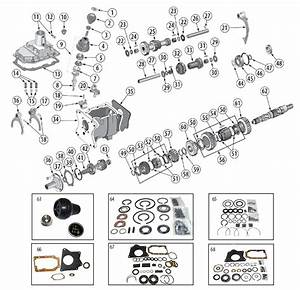 Transmission Diagram For T176  U0026 T177 Tremec 4