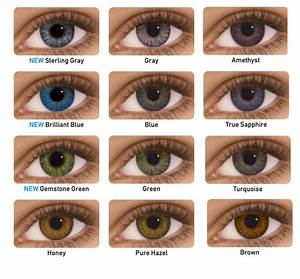 Colored Contacts for Brown Eyes - EyeCandy's