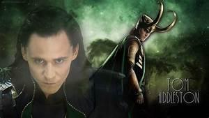 Tom Hiddleston as Loki Wallpaper by Petra1999 on DeviantArt