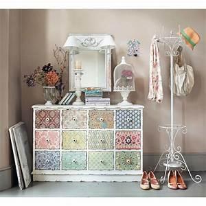 Cabinet Maison Du Monde : cabinet de rangement 12 tiroirs blanc cass c lestine maisons du monde ~ Nature-et-papiers.com Idées de Décoration
