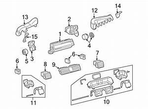 Volkswagen Phaeton Duct  Air  Front  Distributor