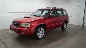 2005 Subaru Forester Xt With A Manual Transmission