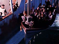 Titanic Rose Jumps Off Boat by Are You Ready To Go Back To Titanic