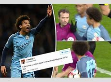 Man Utd fans LIVID Leroy Sane wasn't sent off in Man City