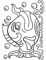 Coloring Pages Fish Printable Sheets Disney Fishes sketch template