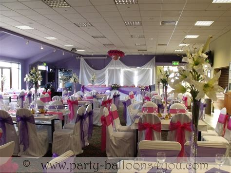 party balloons 4 you wedding venue decorations done at