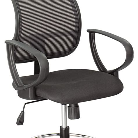 extended height office chair with arms safco 174 optional loop arm kit for mesh extended height