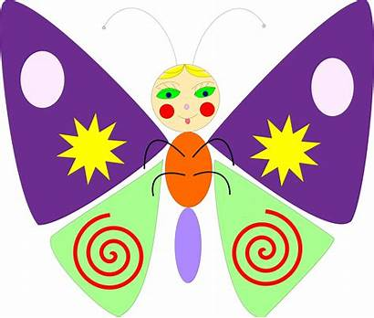 Creative Clip Butterfly Clipart Cartoon Commons Arts