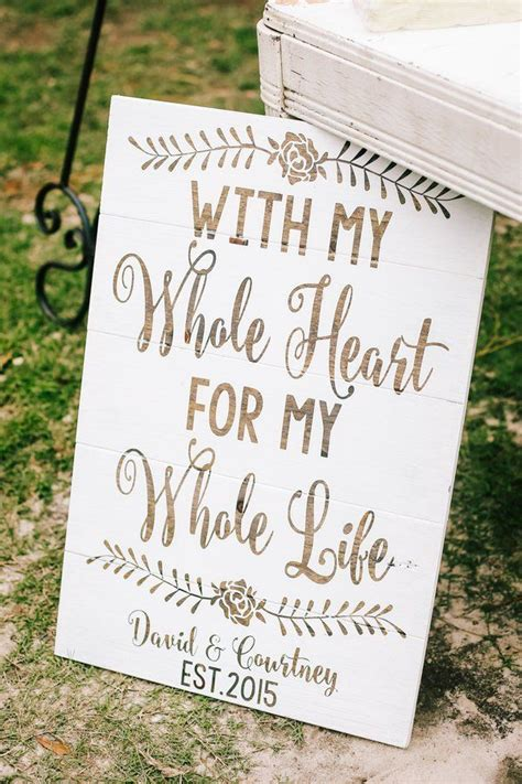 975 Best Rustic Wedding Signs Images On Pinterest