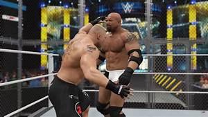 WWE 2K17: un nuovo filmato simula lo scontro tra Lesnar e ...