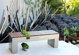 idee deco jardin design amenagement jardin fleuri maison With fontaine de jardin moderne 4 sculpture contemporaine et autres idees de deco du jardin