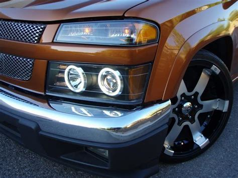 chevy colorado halo projector headlights 2004 2005 2006