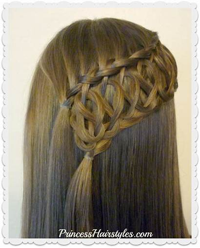 Braid Knot Hairstyle Half Squiggle Tutorial Hairstyles