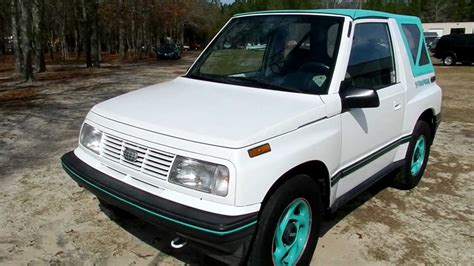 1994 chevy tracker 1994 geo tracker for sale charleston sc review youtube