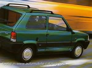 Fiat Panda 2000 : 1996 fiat panda 3a serie 4x2 full range specs ~ Medecine-chirurgie-esthetiques.com Avis de Voitures