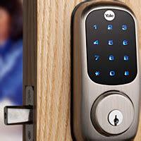 nfc door lock yale unveils nfc door locks nfc world