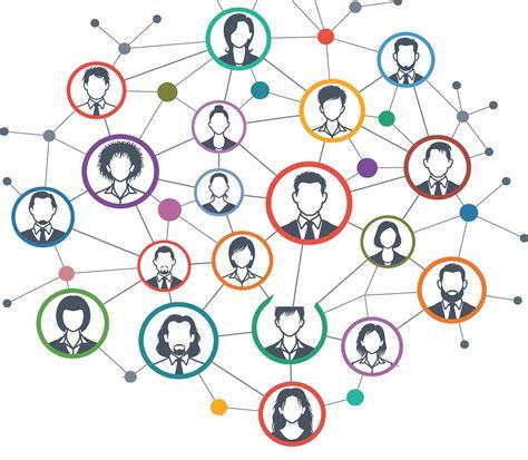 Soziale Medien Vernetzt Mit Kollegen Und Patienten