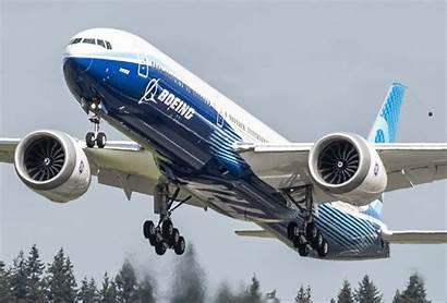 777x Boeing Flight Second Tests Begins Airplane