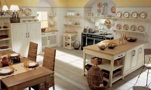 Deko Küche Landhausstil : 57 interessante deko ideen f r k che ~ Lizthompson.info Haus und Dekorationen