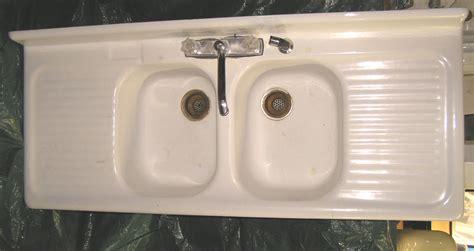 vintage kitchen sink with drainboard vintage style kitchen drainboard sinks retro renovation