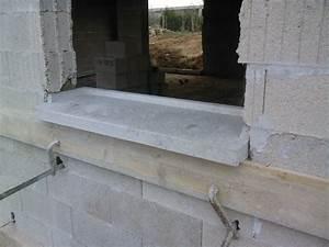 Appui De Fenetre Pvc : pose des appuis de fenetres notre construction ~ Premium-room.com Idées de Décoration
