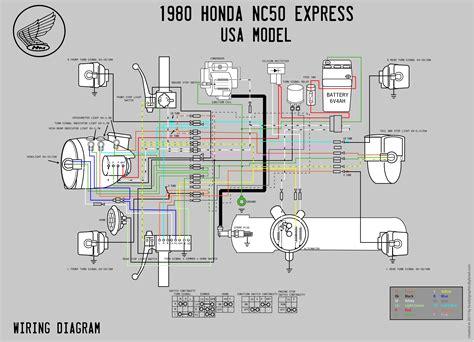 Honda Wiring Diagram Moped Wiki
