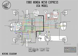 1982 Honda Express Nc50 Wiring Diagram