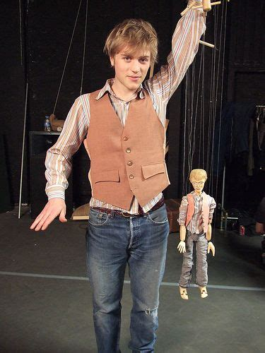 Johnny Flynn And His Puppet From The Tickle Me Pink Video