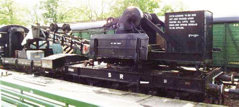 bluebell railway wagons  ton hand crane