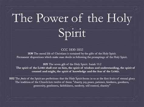 Seven Gifts Of The Holy Spirit Catholic List  Ee  Gift Ee   Ftempo