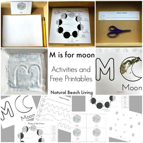 35 summer preschool themes and activities 659 | moon activities square