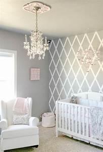 Einrichten In Weiß : 1001 ideen f r babyzimmer m dchen grau und wei ~ Lizthompson.info Haus und Dekorationen