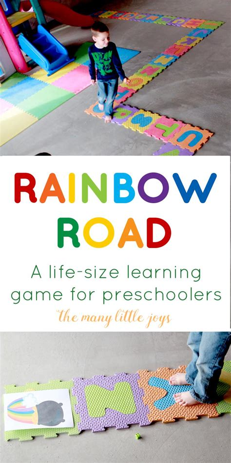the rainbow road a sized learning for 508 | rainbow road long copy