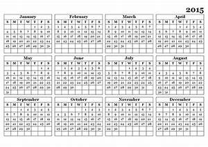 2015 yearly calendar template 09 free printable templates for 2015 yearly calendar template in landscape format