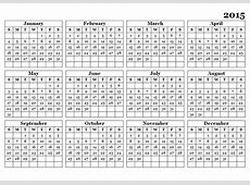 2015 Yearly Calendar Template 09 Free Printable Templates