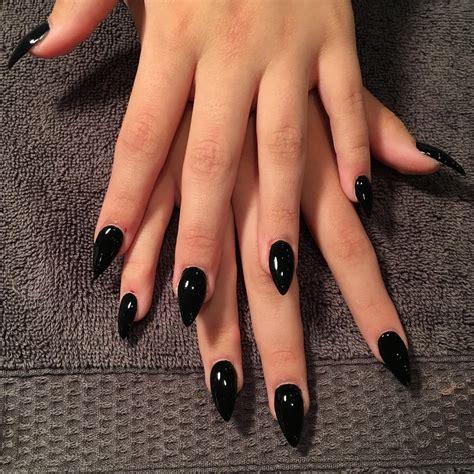 black nail designs 34 black nail designs ideas design trends