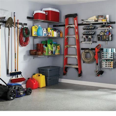 rubbermaid garage storage rubbermaid fasttrack garage storage system