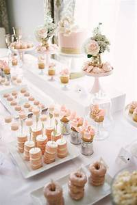 pink gold sip n39 see party for penny baby showers With wedding shower dessert table