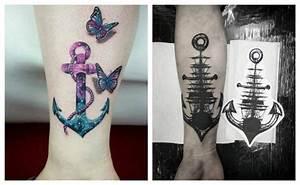 El significado de los tatuajes de anclas y cientos de diseños para hacerse