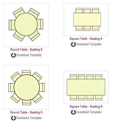 table seating chart templates summit pinterest