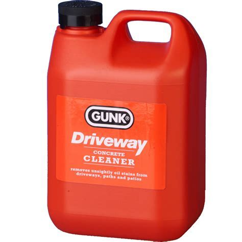 Gunk Driveway Cleaner Oil Stain Remover Garage Floor Paths