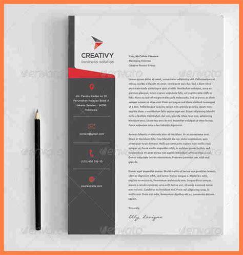 modern letterhead template company letterhead